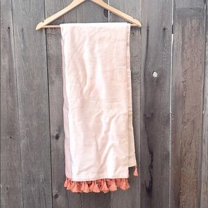 Apricot Blush Curtain Panel